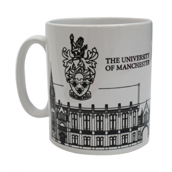 The Whitworth Hall Mug, mug, cup,