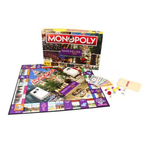 The University of Manchester Monopoly, monopoly, game, sale