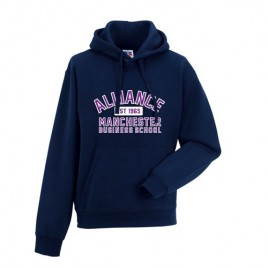 Contemporary Unisex Hoodie - Navy (AMBS)