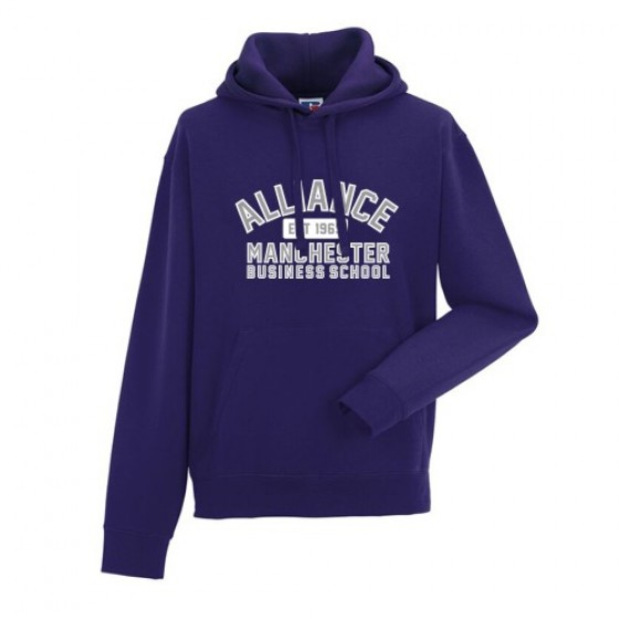 Contemporary Unisex Hoodie - Purple (AMBS)
