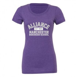 Ladies Soft Feel T-Shirt - Purple (AMBS)