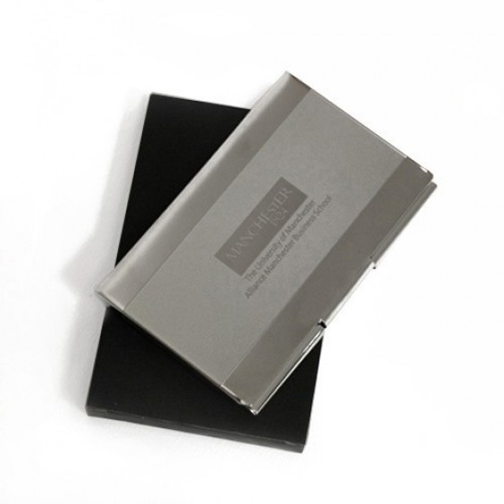 Chrome business card holder ambs the university of manchester chrome business card holder ambs reheart Gallery