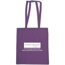 Purple Cotton Shopper (AMBS)