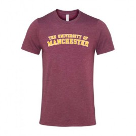 Unisex Crew Neck T-Shirt - Heather Maroon