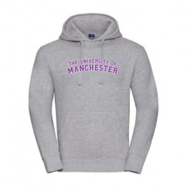 Unisex Hooded Sweatshirt - Light Oxford
