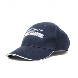Athleisure Cap - French Navy/White
