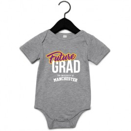 Future Graduate Babygrow - Athletic Heather