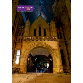 Post Card - The Whitworth Hall by Night
