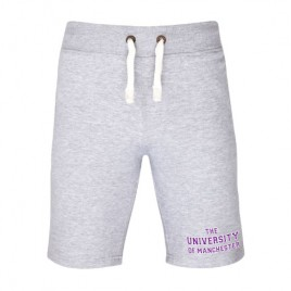 Mens Campus Shorts - Heather Grey