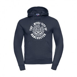 Manchester 1824 Hoodie - French Navy