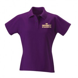 Ladies Polo Shirt - Purple, ladies polo shirt, purple